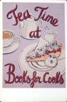 Books for Cooks, London. Postcard.