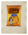 Johnny's Cheese Balls. 60cm x 48cm